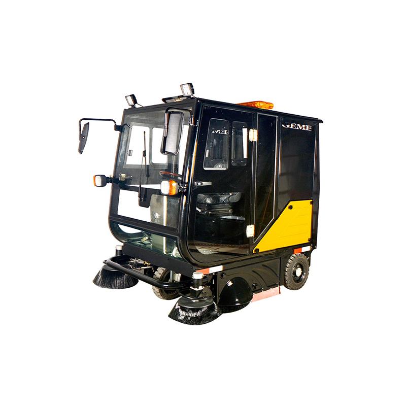 电动液压自卸扫地车S20